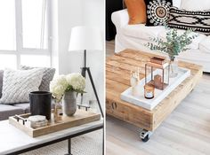 Il y a plusieurs façons de personnaliser votre table de salon selon vos intérêts et vos occupations, tout en créant un coup d'oeil joli et harmonieux. En voici 8!