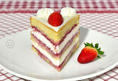 Mascarpone & fruits cake (CC Eng Sub) Sweets Recipes, Fruit Recipes, Cooking Recipes, Romanian Desserts, Romanian Food, Food Cakes, Cupcake Cakes, Strawberry Cake Recipes, Good Food