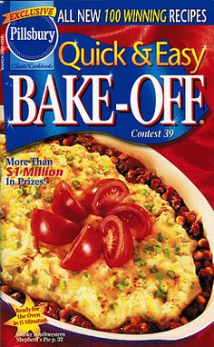 #39 Pillsbury Bake-Off  (Hey look!  That's my recipe on the cover!)