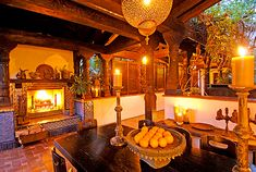 Ben Stiller, look at this with the fireplace in the open loggia, he is going to miss this in NY!