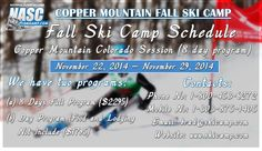 Copper Mountain fall camp arranges junior #elitecamps, #adultcamps, #familycamps and improvement camps etc.  #Thanksgiving Camp at Copper Mountain, #Colorado! (#November 22-29, 2014)...... Its not too late to register.