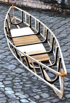 #skinonframe Struktur eines Doppelsitzers