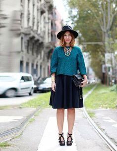 Love the full skirt