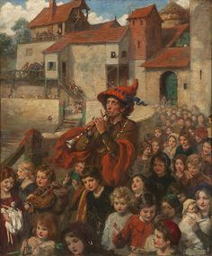 The Pied Piper of Hamelin - Frank Eastman