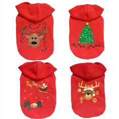 New Qualified Hot sell Christmas Pet Puppy Dog Clothes Santa Claus Costume Outwear Thick Coat Appare