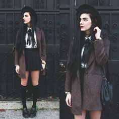 Holynights Claudia - Dr. Martens Shoes, Miss Patina Leopard Coat - Just like heaven