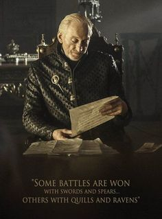 Tywin Lannister, brilliant man, cruel father