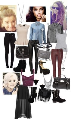 """girls day out."" by robbieisabel ❤ liked on Polyvore"