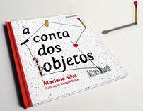 livro À conta dos objetos [book On Account of Objects] by raquel balsa, via Behance