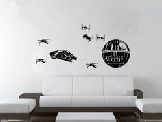 @shay VanVlymen  Star Wars 8 piece Wall Decor. $28.00, via Etsy.