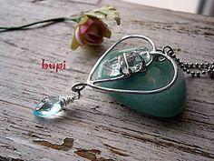 Náhrdelníky - Slzy Luny (Diamant z County Lake) & Blue Sky Topaz - 5919987_