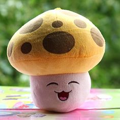 Shalleen Sun-shroom Stuffed Plush Toy Children gifts, Plants vs Zombies cutie now just $29.99
