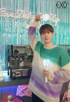 Baekhyun Fanart, Kyungsoo, Kpop Exo, Exo K, Exo Members, Chanbaek, Park Chanyeol, My King, Boy Bands