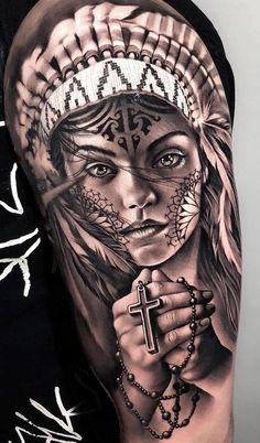 Best Arm Tattoos – Meanings, Ideas and Designs for This Year Part arm tattoo ideas; arm tattoo for girls; arm tattoos for girls; arm tattoos for women; Wolf Tattoos, Native Tattoos, Arm Tattoos, Body Art Tattoos, Sleeve Tattoos, Tattoo Girls, Tattoos For Guys, Tattoos For Women, Indian Girl Tattoos