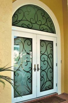 .etch glass door. i saw a tutorial about how to etch glass and it seems super easy.