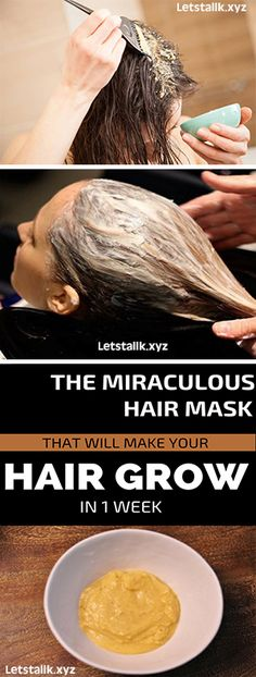 The Miraculous Hair Mask That Will Make Your Hair Grow In 1 Week #fitness #beauty #hair #workout #health #diy #skin #Pore #skincare #skintags #skintagremover #facemask #DIY #workout #womenproblems #haircare #teethcare #homerecipe