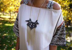 Collana Glamour Ecopelle http://www.lovediy.it/2014/04/16/collana-glamour-ecopelle/ Le passerelle di alta #moda sono una fonte di ispirazione formidabile per realizzare #gioielli #glamour, accessibili a tutti...