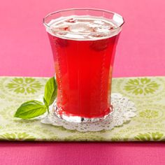 Bella Basil Raspberry Tea Ingredients 3 cups fresh raspberries 1 cup sugar 1 cup packed fresh basil leaves, coarsely chopped 1/4 cup lime juice 2 individual black tea bags 1 bottle (1 liter) carbonated water or 1 bottle (750 milliliters) sparkling rose wine Ice cubes Fresh basil sprigs, optional