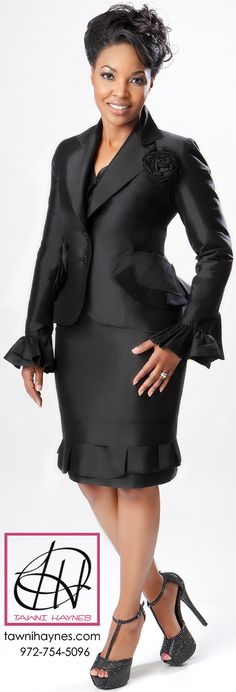Tawni Haynes Layered Peplum Suit! Shop online @ http://shop.tawnihaynes.com/product-p/lyrd-pplm-st.htm or call 972-754-5096 .  All sizes & colors available! Custom Made in the USA!