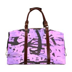 All of My Purple Life Classic Travel Bag