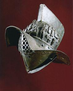 Murmillo helmet.