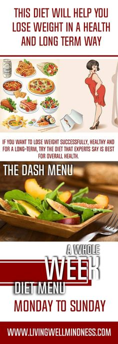 If you want to lose weight successfully, healthy and for a long-term, try the diet that experts say is best for overall health.