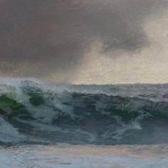 Carla Jane Cassells (@cjcassellsart) • Fotos e vídeos do Instagram Watercolor Ocean, Waves, Painting, Outdoor, Instagram, Art, Outdoors, Art Background, Painting Art