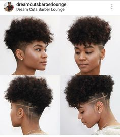 New Black Female Short Natural Haircuts