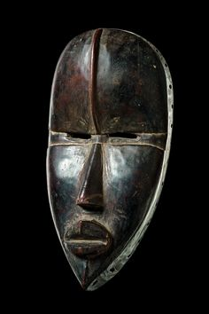Dan Deangle Mask, Ivory Coast http://afriart.tumblr.com/post/90185413604/ivory-coast-dan-deangle-circumcision-camp-mask