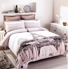 Eiffel tower Bedroom Decor New Paris Eiffel tower Double Full Size Quilt Cover Set 250 Tc New Room Home Plywood Furniture, Design Furniture, Paris Room Decor, Paris Rooms, Bedroom Bed, Bedroom Apartment, Girls Bedroom, Bed Room, Bedroom Themes