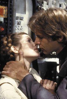 Princess Leia and Han Solo - Star Wars