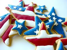 Diary of a Mad Hausfrau: Apple Pie Spice Sugar Cookies for Memorial Day