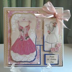 Kanban Shabby and Chic Kanban Cards, Arts And Crafts, Paper Crafts, Create And Craft, Heartfelt Creations, Greeting Cards Handmade, Cardmaking, Birthday Cards, Projects To Try