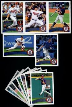 2011 Topps Minnesota Twins Complete Series 1 & 2 Team Set - Shipped in Deluxe Arcylic Case! 23 Cards including Thome, Capps, Morneau, Kubel ,Ben Revere RC, Valencia, Mauer, Tsuyoshi Nishioka RC & more! by Topps. $6.58