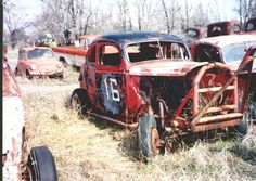 Old Junk Race Car - Bing images