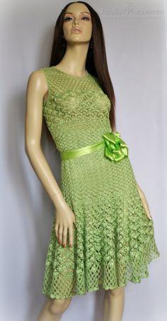 Crochet Dress with Diagram