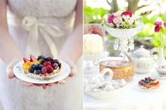 Vintage Inspired Tea Party Sweets Table {guest feature} - Celebrations at Home