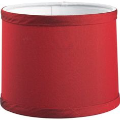PROGRESS LIGHTING P8703-01 RED SHADE COORDINATES WITH THOMASVILLE FABRIC #1512-52 1-INCH CANDLE CHASER, RED  - Click image twice for more info - See a larger selection of lamp shades at http://tablelampgallery.com/product-category/lamp-shades/ - home, home decor, lamp accessories, desk lamp accessories, home ideas, lightning, gift ideas