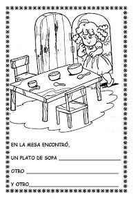 """COSILLAS DE INFANTIL: Cuento: """"Ricitos de Oro y los tres osos"""" Book Activities, Fairy Tales, Peace, Teaching, Quiet Books, Childhood Education, Happy Birthday Vintage, Simple Sketches, Reading Comprehension"""