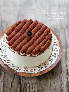 ティラミスシフォンケーキ