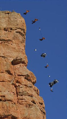 SEVERAL BASE JUMPERS TO THE EXTREME!