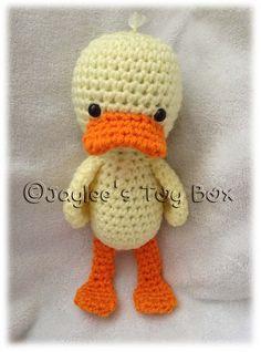 Ravelry: Duck free crochet pattern by Jaylees Toy Box ❥Teresa Restegui http://www.pinterest.com/teretegui/❥