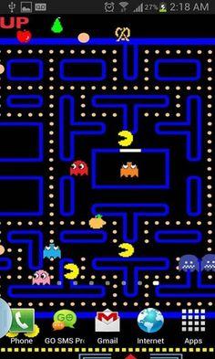 PAC man | Pacman | Pac man party, Atari video games, Man wallpaper