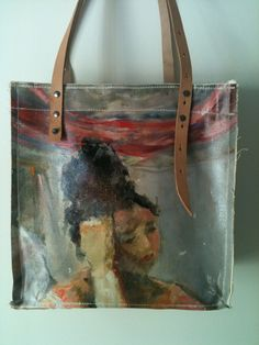 Grazia Tote Bag Created from a Painting: Last Dance by GraziaArte