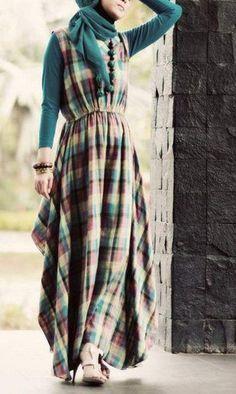 HIJAB FASHION love this dress