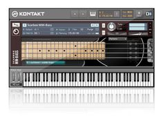 Music Production - Bass Guitar: Native Instruments - Komplete 9 - Scarbee MM-Bass - BTV Professional Music Production Software works as a standalone application or with your DAW as a VST or AU plugin (optional). Native Instruments, Music Instruments, Fender Precision Bass, Online Business, Software, Guitar, Music Production, Studio, Products