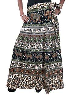 Wrap skirts, Long skirts and Saris on Pinterest