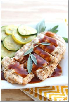 Brick Grilled Chicken with Cola Sauce | Doughmesstic