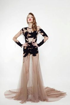 the perfect dress for Breakfast, debut collection of russian design Bohemique