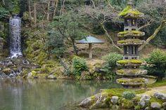 10 jardins colorés autour du monde | CHEZ SOI Photo: ©iStock #jardin #fleurs #couleurs #Kenrokuen #japon